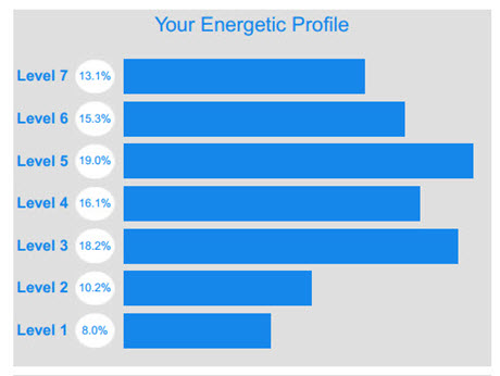 Energetic Profile Results - Normal Day-to-Day