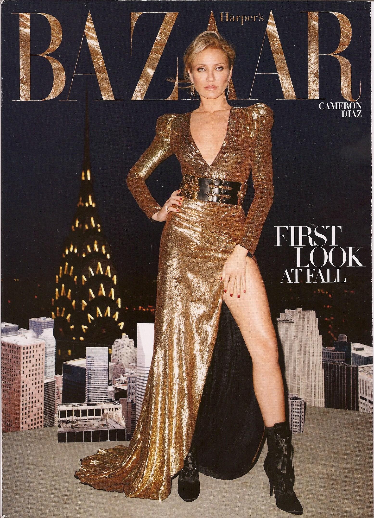 Harper's Bazaar, August 2010