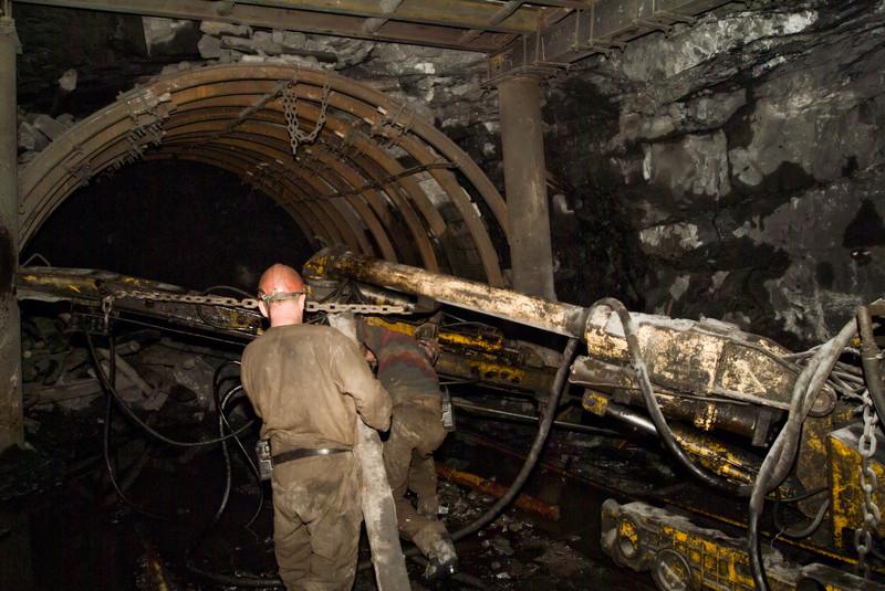 Kohle-Bergbau