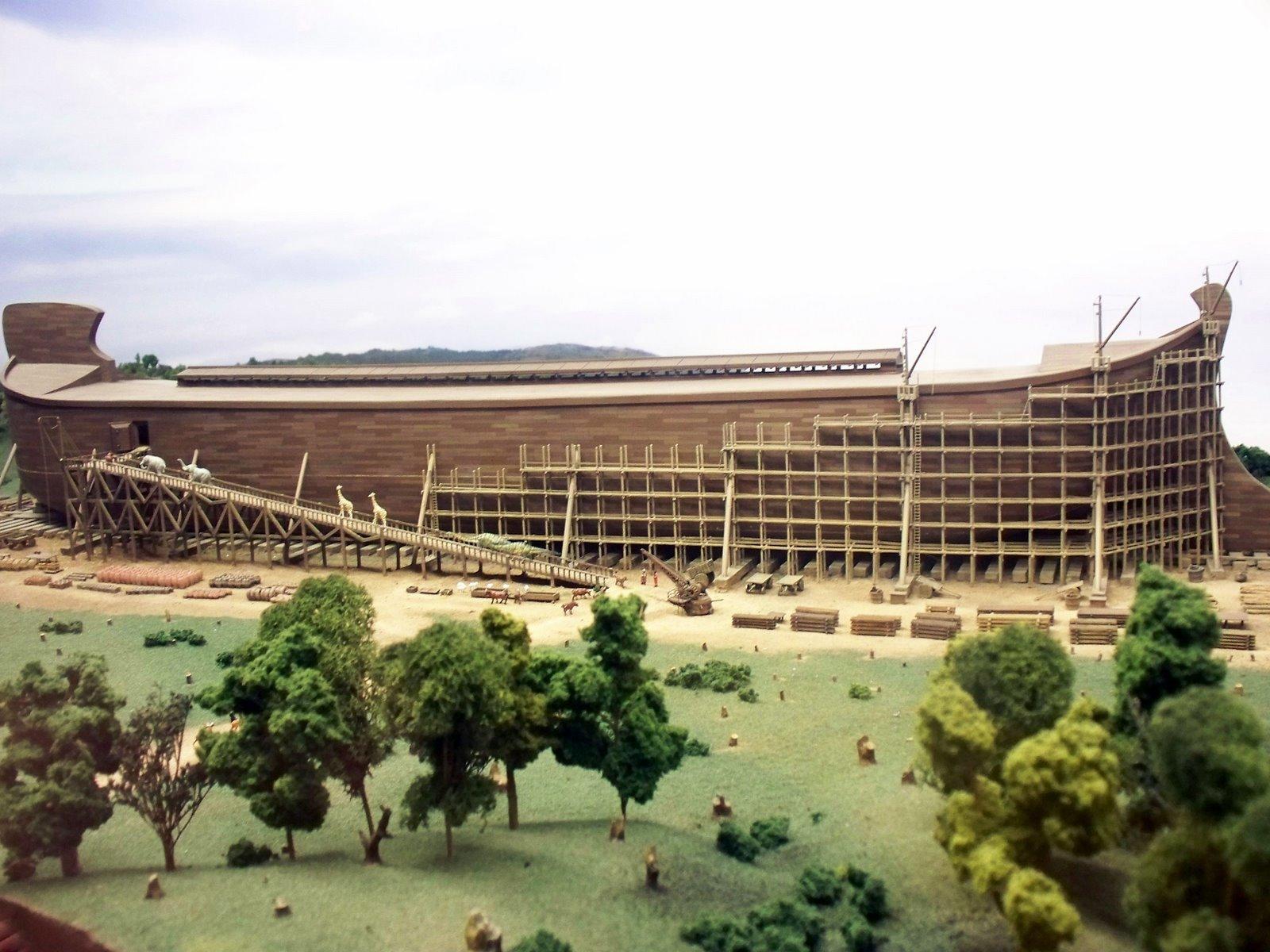 Arche Noah, im Bau
