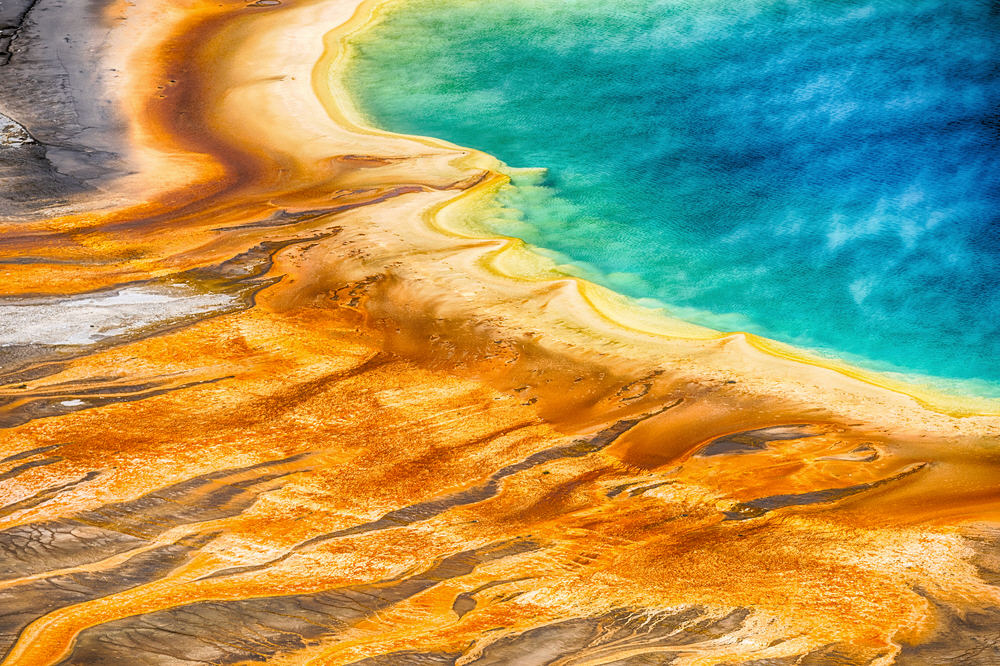 Ursuppe? - Grand Prismatic Spring, Yellowstone Nationalpark, USA