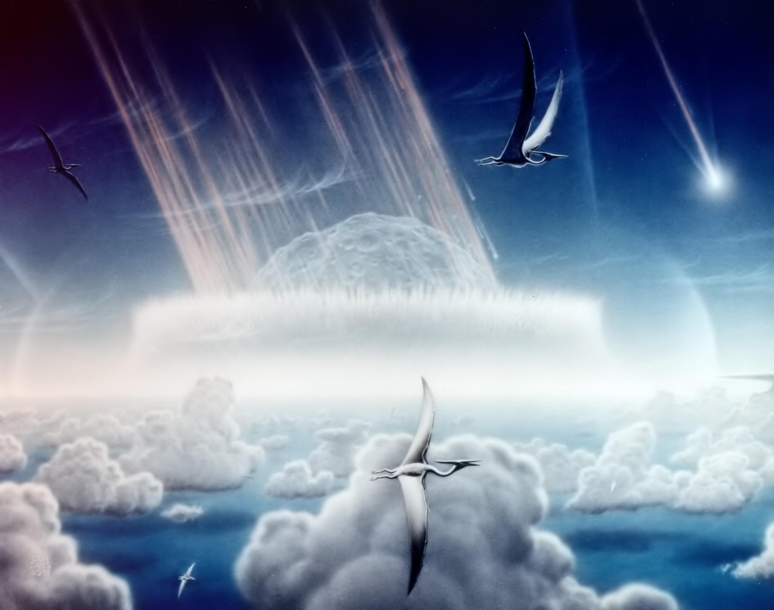 Asteroiden-Einschlag