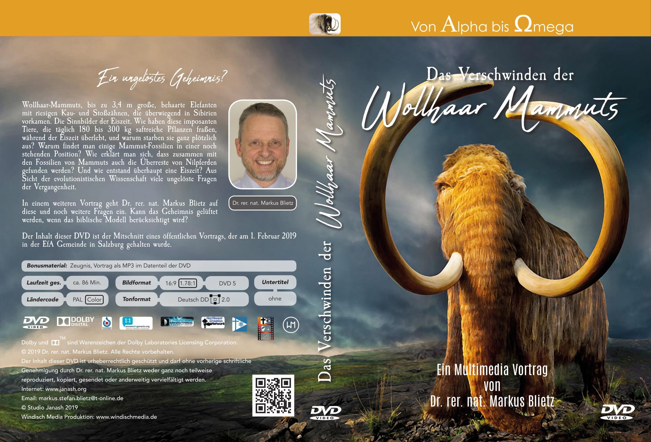 Das Verschwinden der Wollhaar Mammuts - DVD.jpg