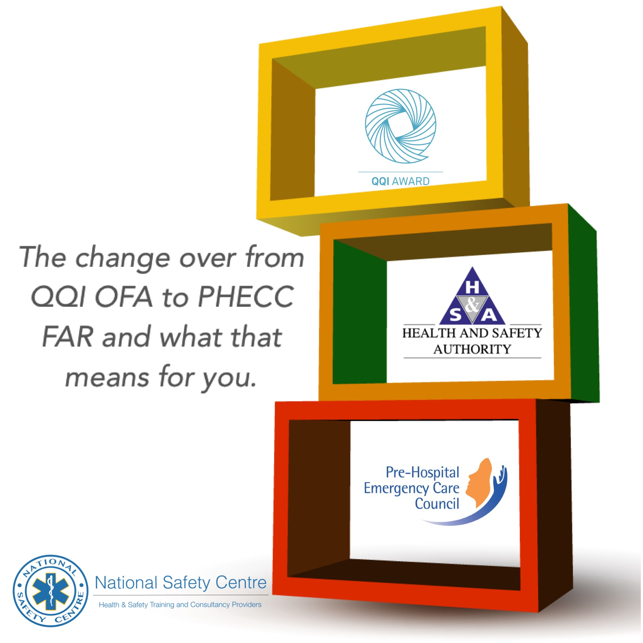 Transition of Occupational First Aid to FAR