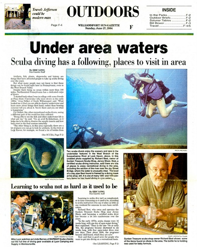 2004 Sun Gazette article about this area.        Click here to view larger image