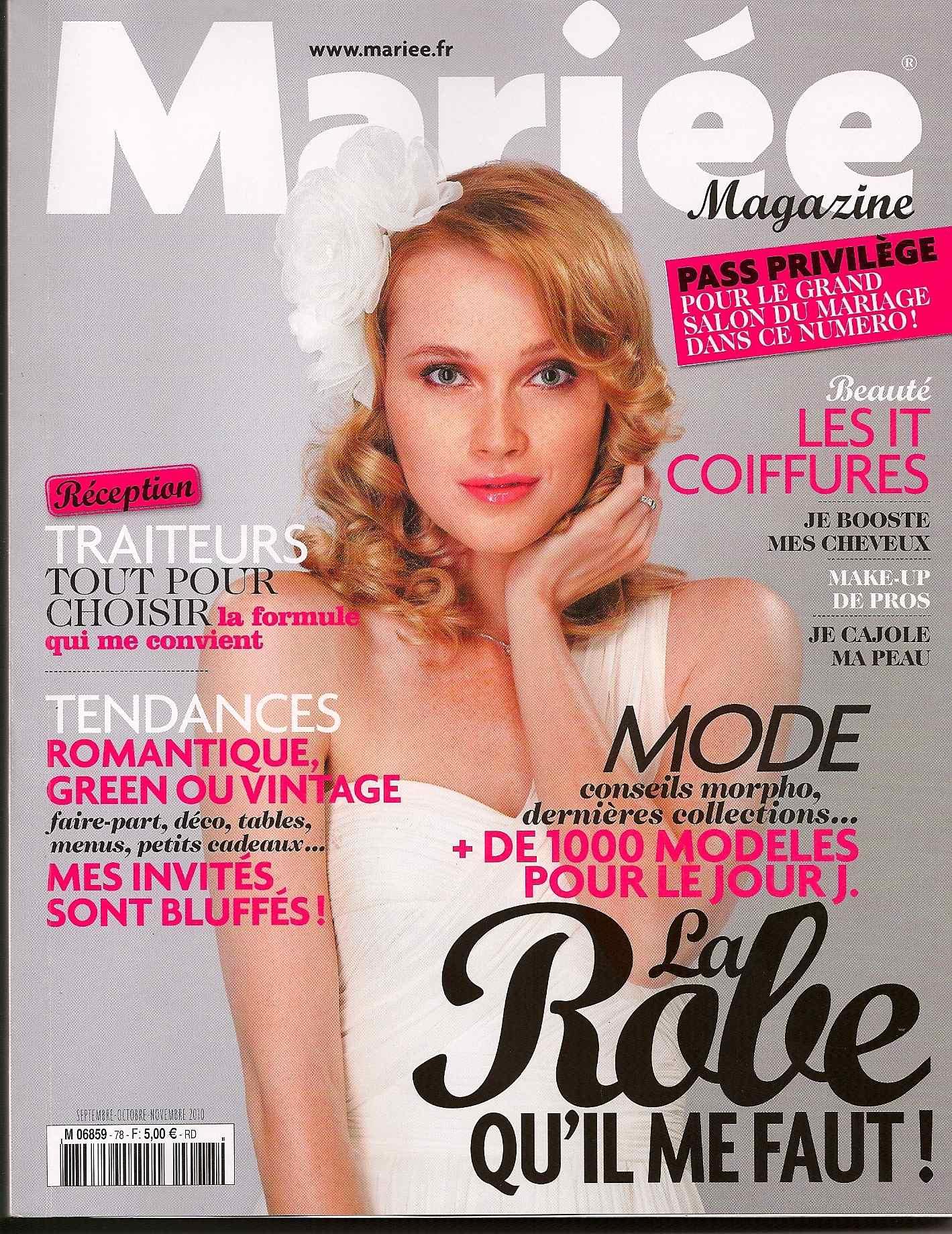 Dans Mariée Magazine