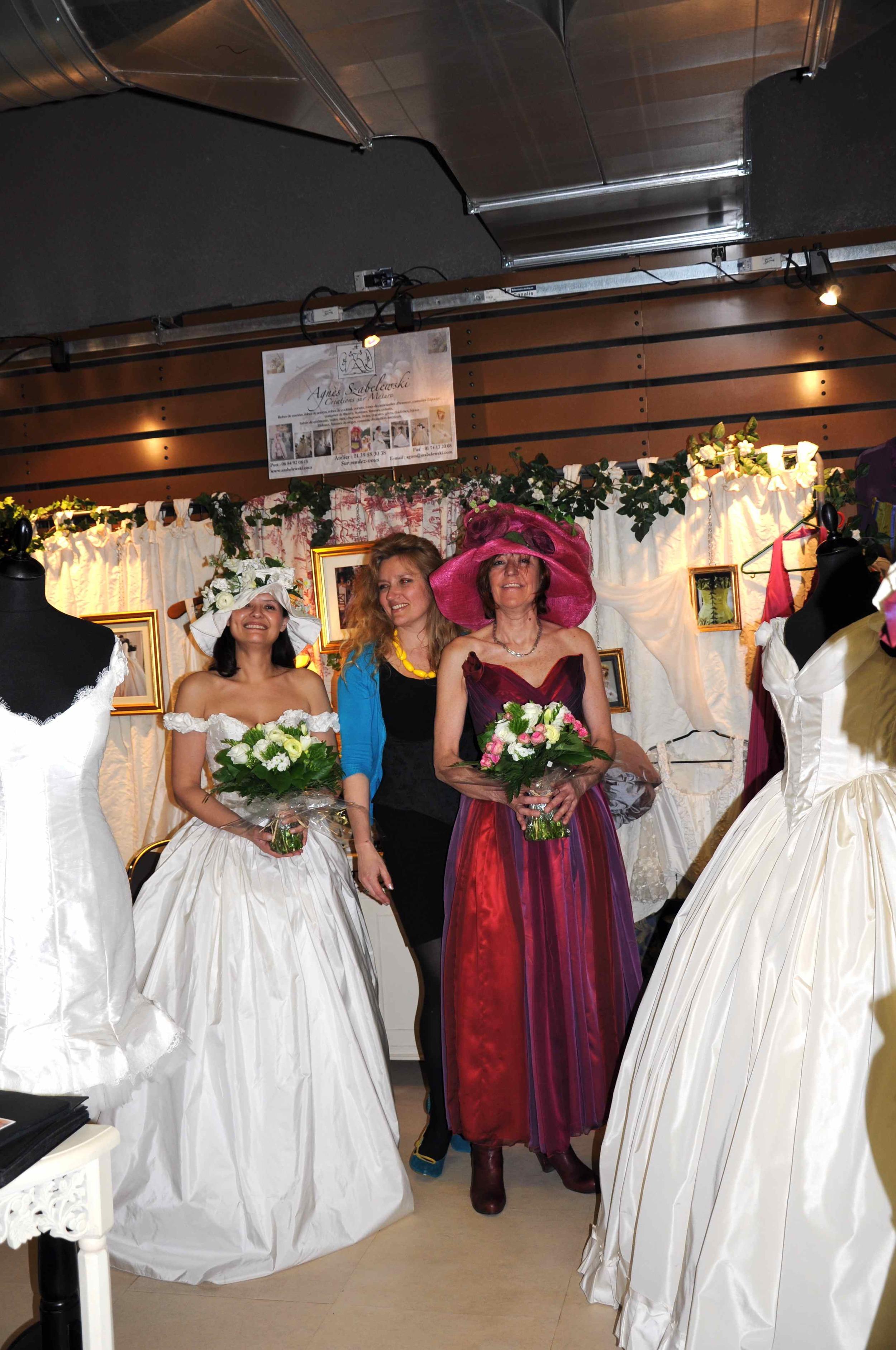Stand Agnès Szabelewski au Salon des Femmes Entrepreneurs 2012