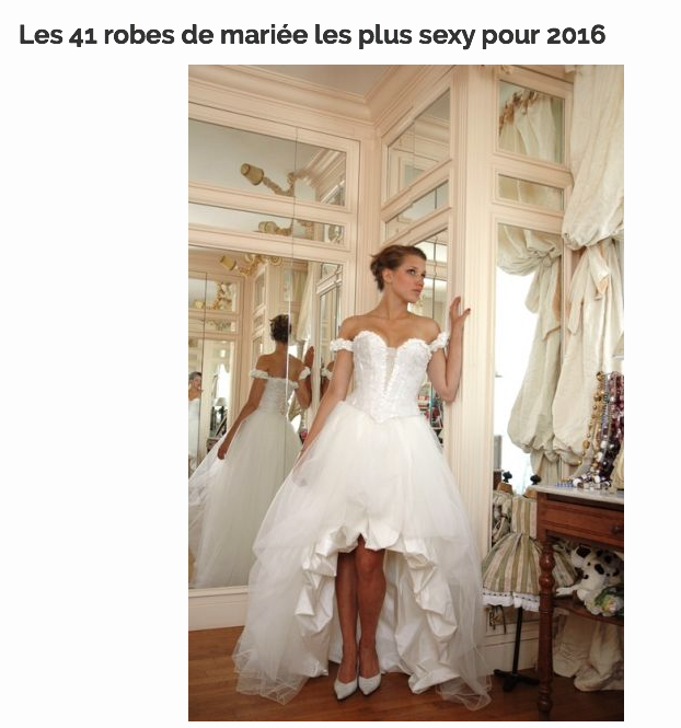 Zankyou : Les 41 robes les plus sexy pour 2016. Cliquez sur l'image pour accéder à l'article