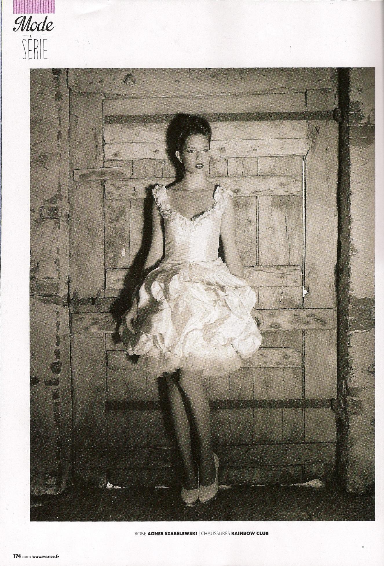 Robe de mariée courte bouffante Agnes Szabelewski.jpg