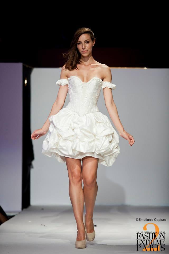 Robe de mariée Danseuse Etoile courte soie Face Agnes Szabelewski.jpg
