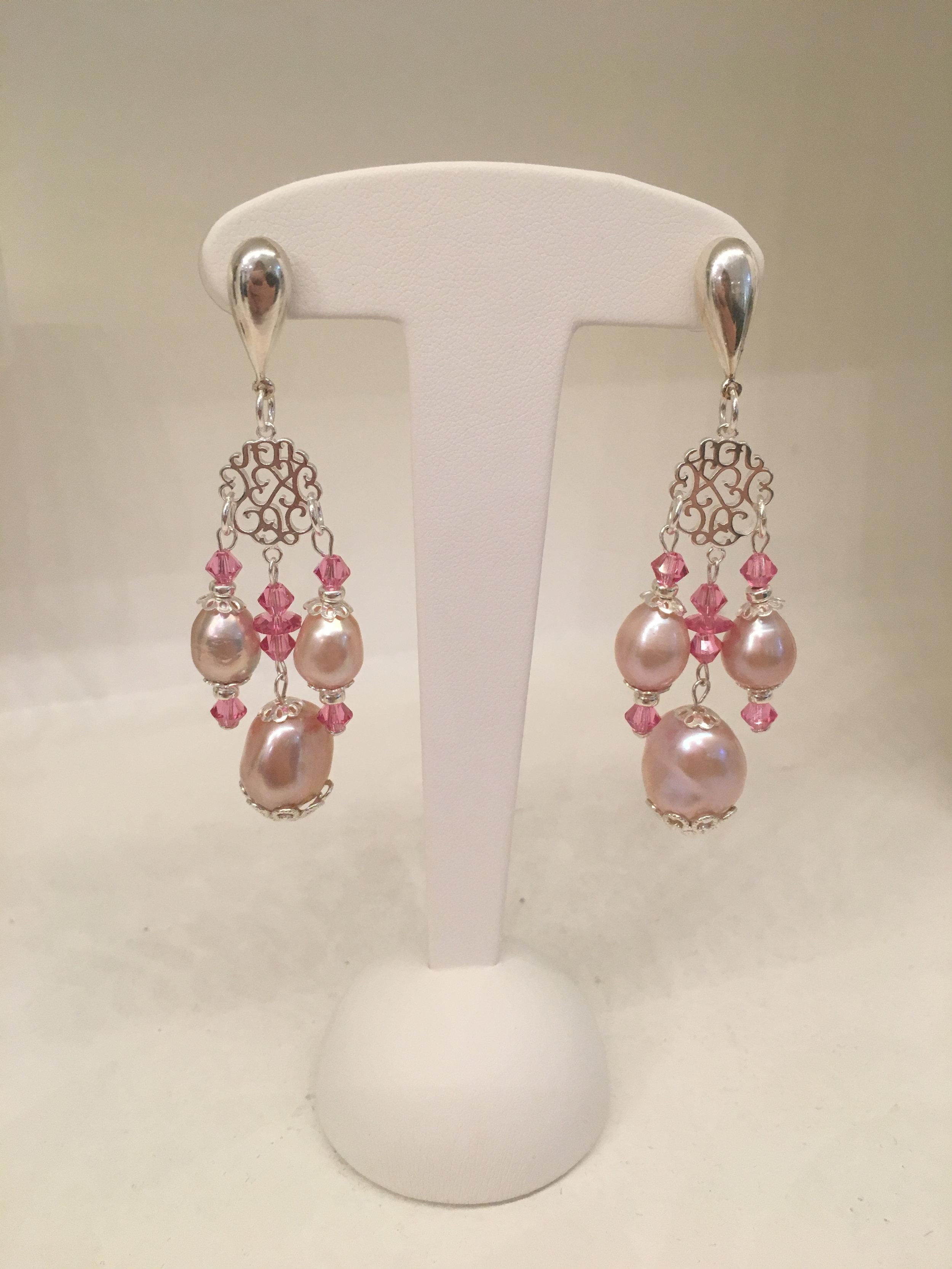 Boucle oreille Silver argent et perles baroques.jpg
