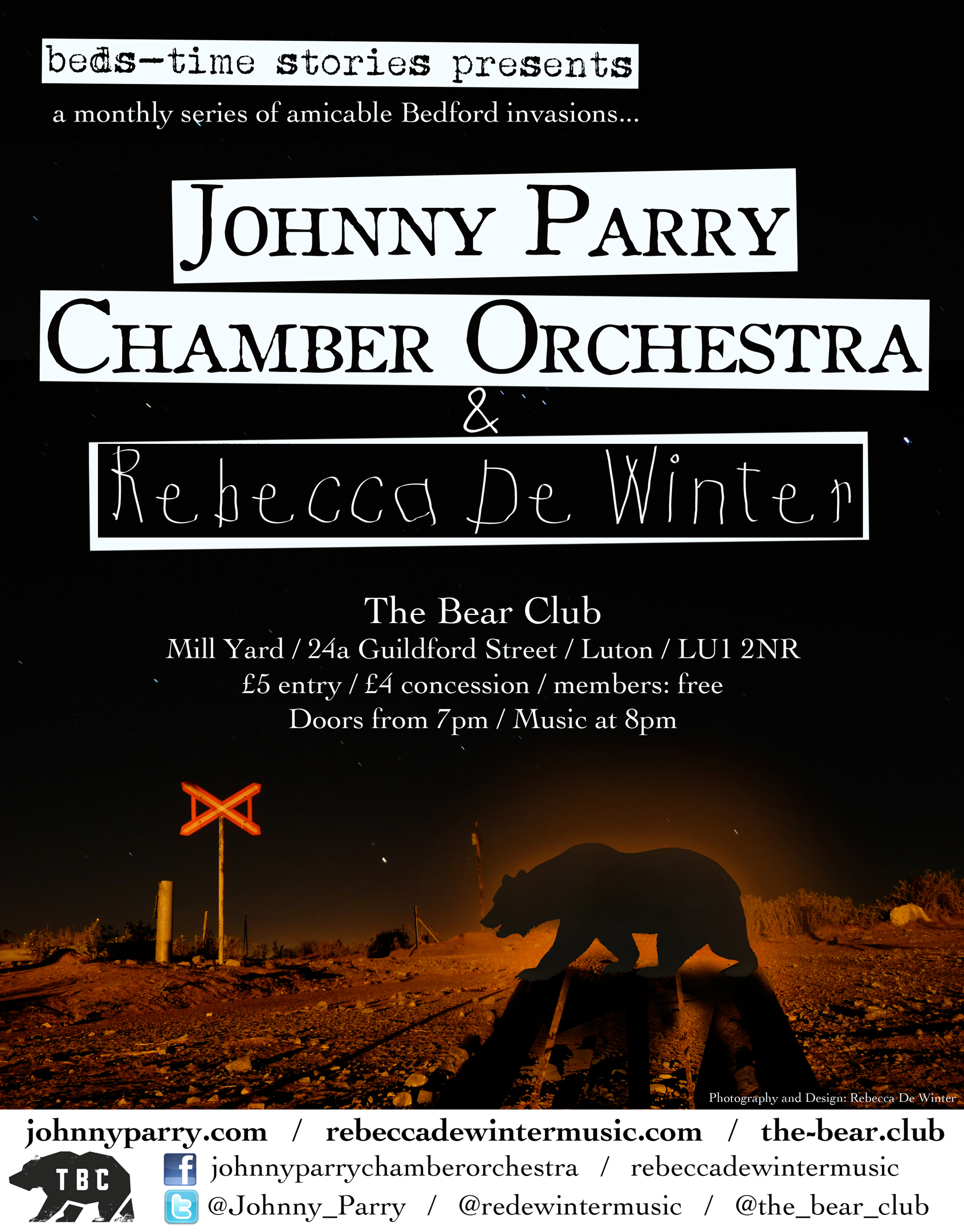 15 03 14 The Bear Club Poster A5.jpg