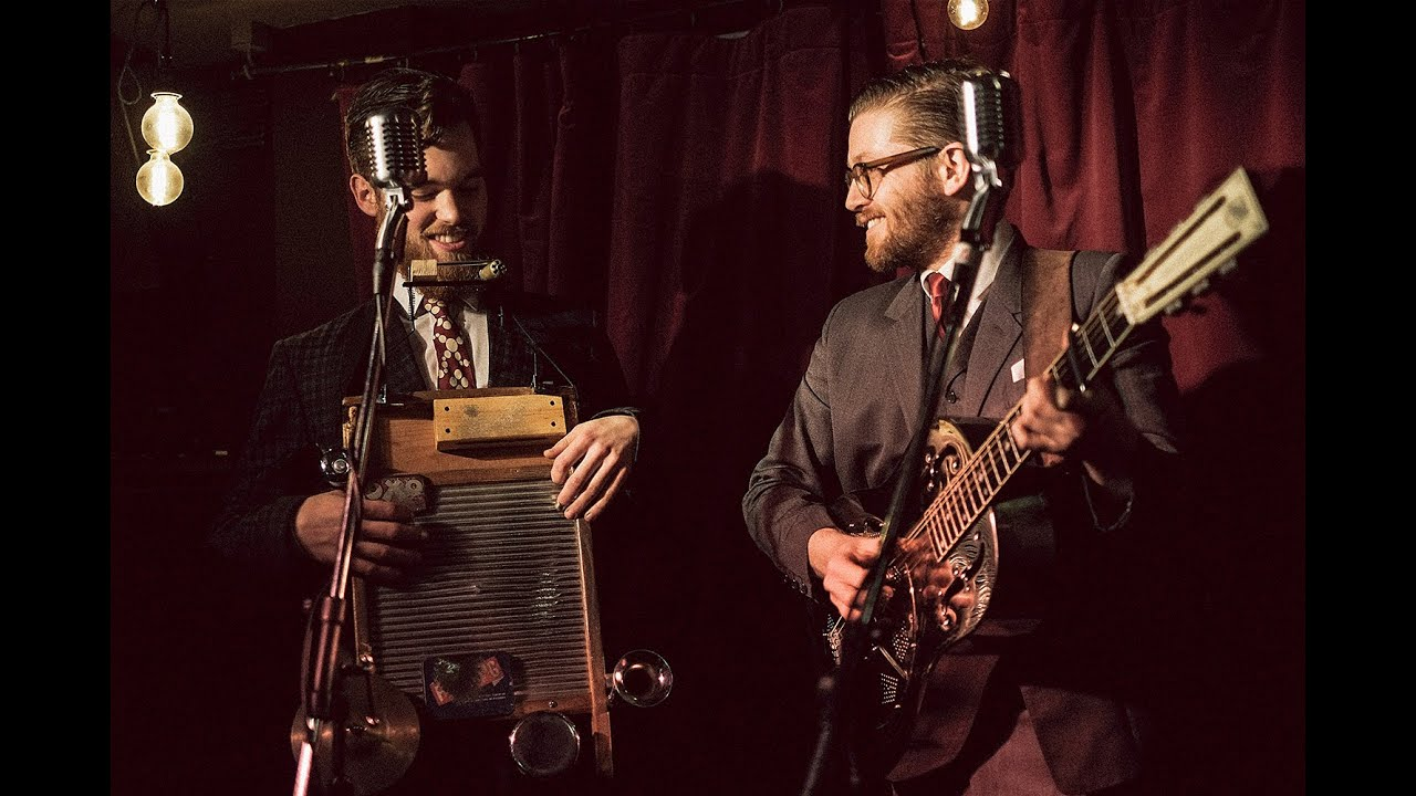 WASHBOARD RESONATORS - FOLK / RAG / BLUESDOOR 7PM / MUSIC 8.30PM£10 / £9 / £0 (BK)EMAIL TO RESERVE