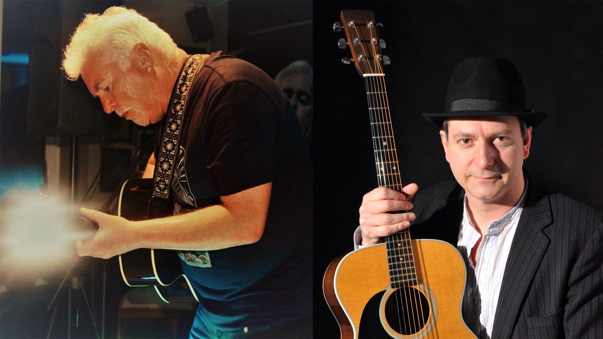 FINGERPICKIN' DOUBLE BILL - WIth MICHAEL WOODS & GED WILSONBLUESDOOR 7PM / MUSIC 8.30PM£10 / £9 / £0 (BK)EMAIL TO RESERVE