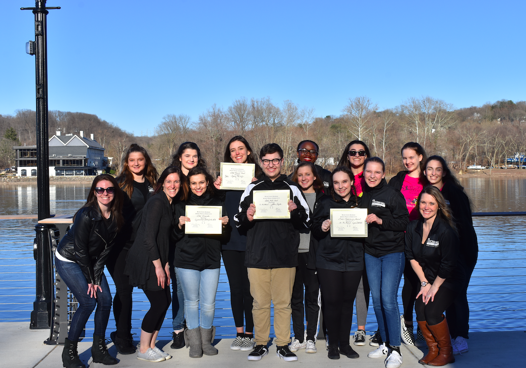 2018-2019 Musical Theatre Competition Troupe at Bucks County Playhouse Student Theatre Festival.