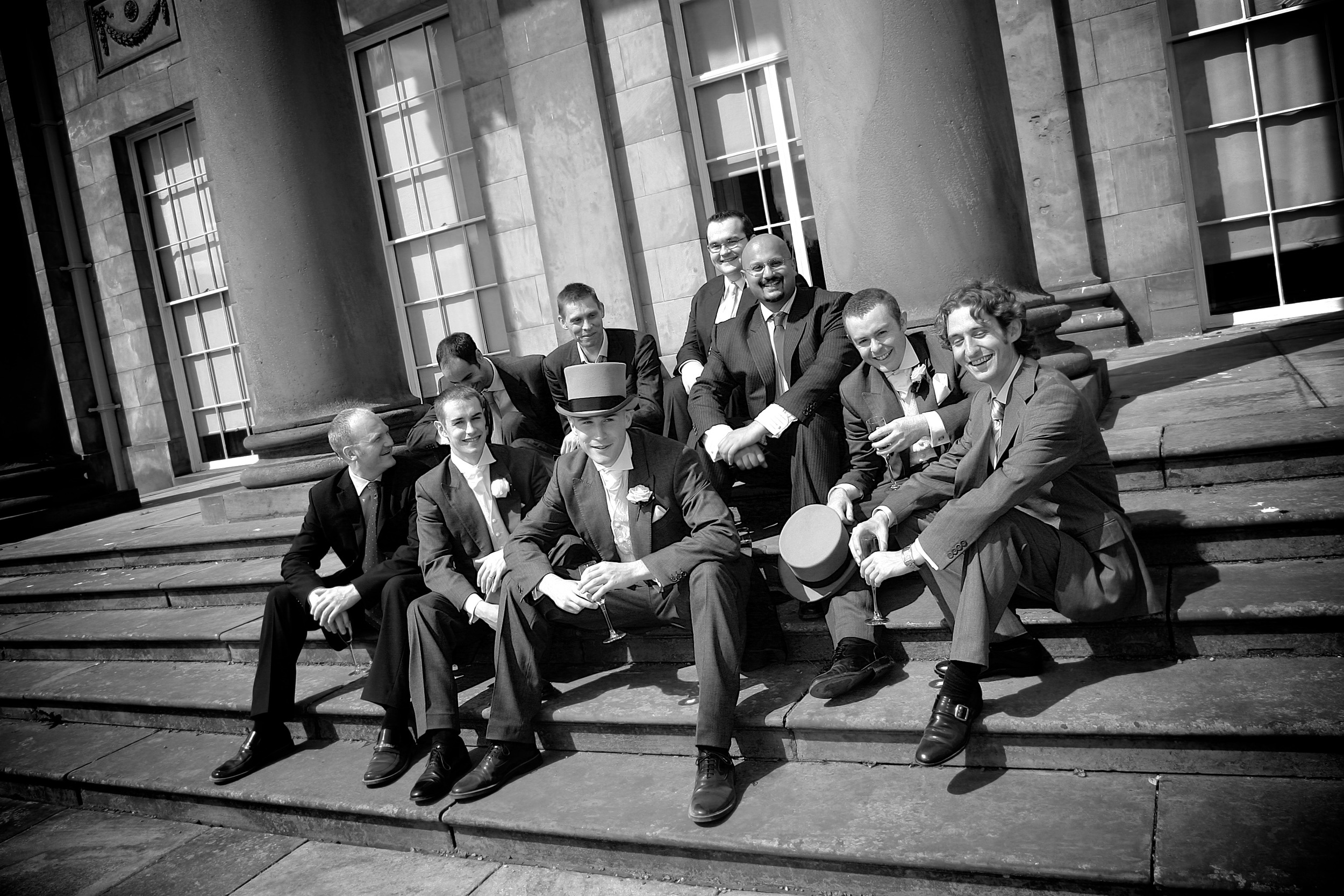 The Guys. ©  Wedding Photography by Vivid Confetti