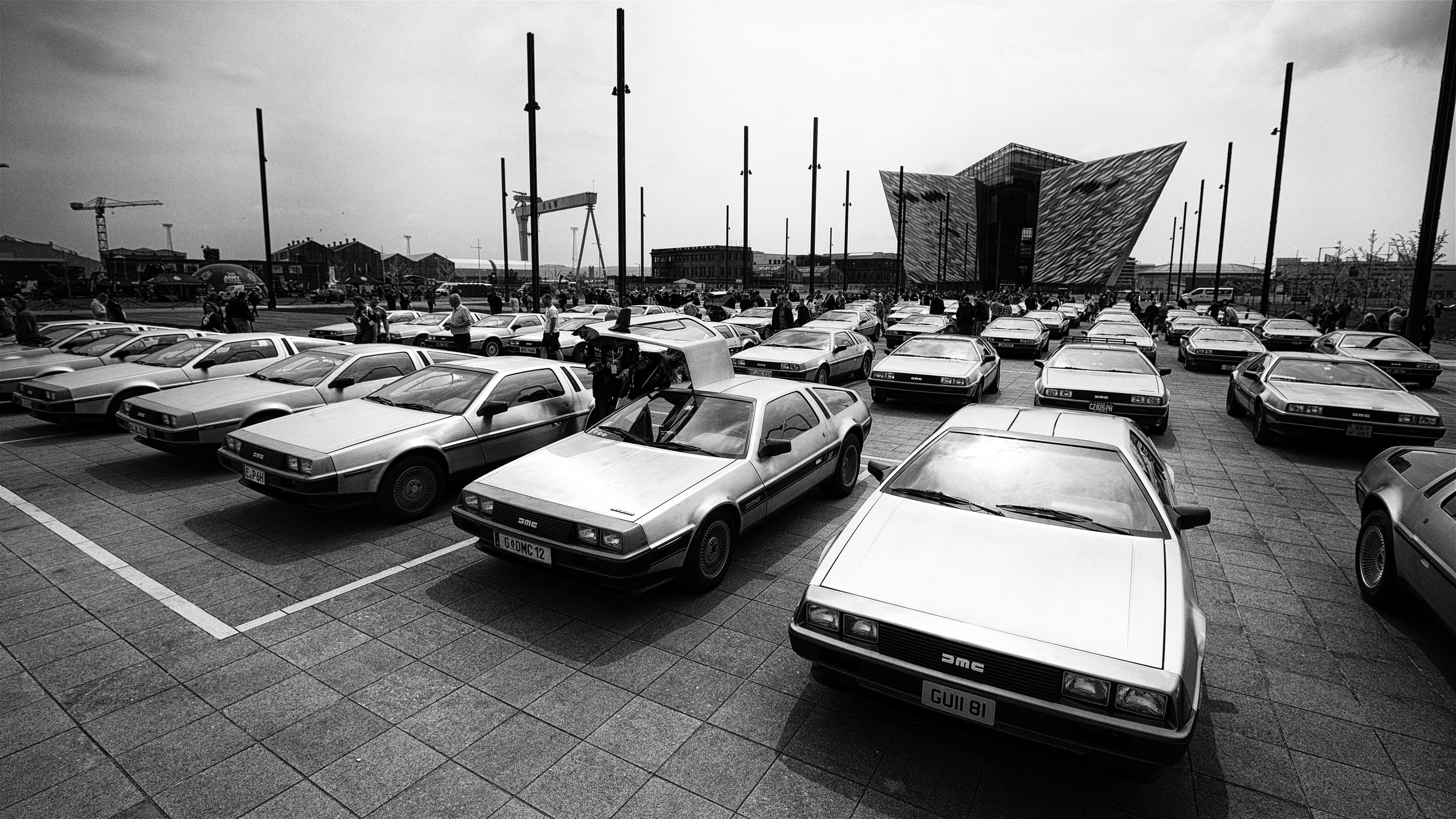 Gathering of DeLorean Cars.jpg