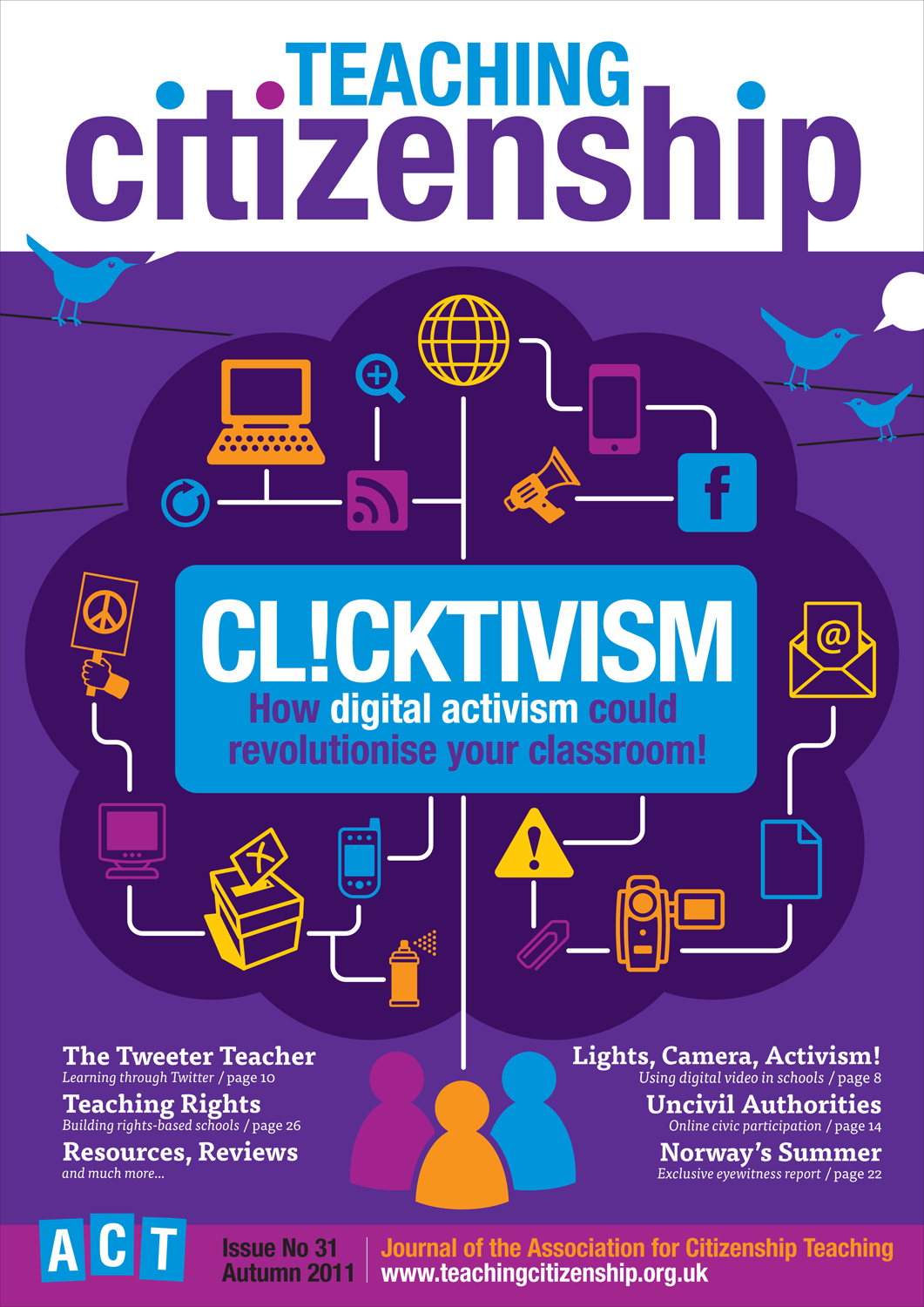 Teaching Citizenship 31 Cover