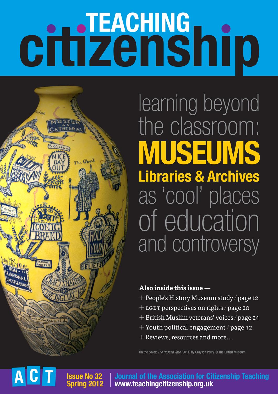 Teaching Citizenship 32 Cover