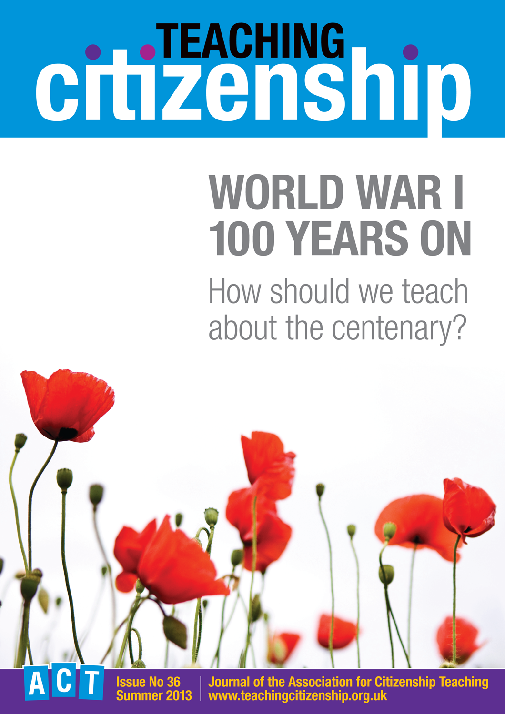 Teaching Citizenship 36 Cover
