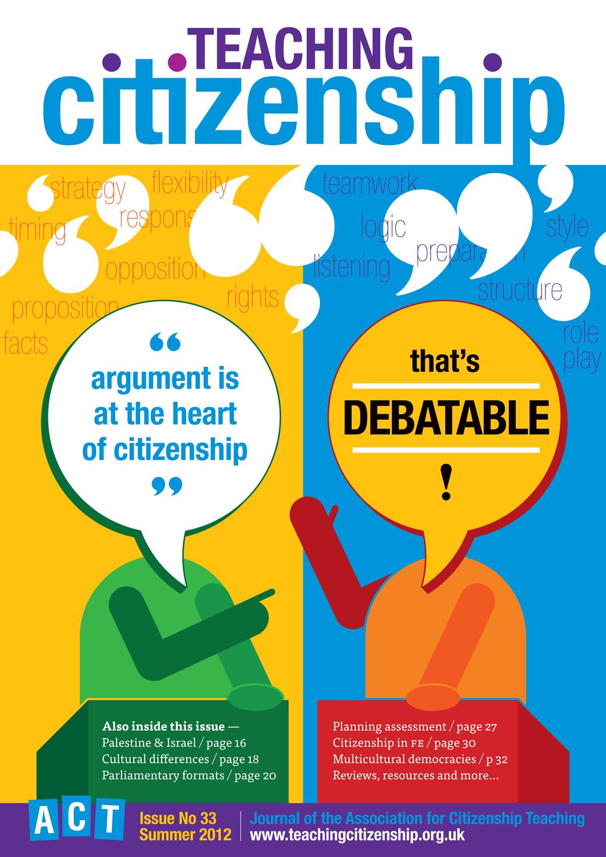 Teaching Citizenship 33 Cover