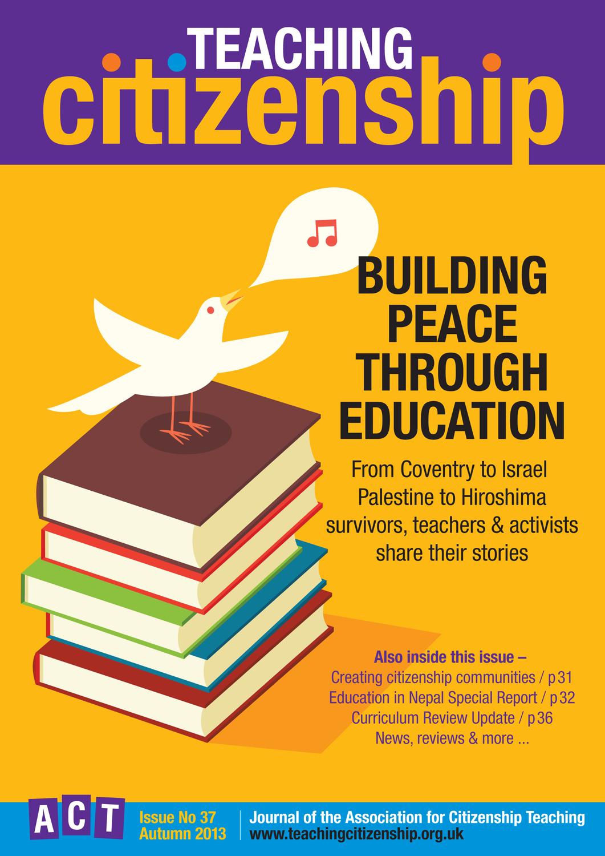 Teaching Citizenship 37 Cover