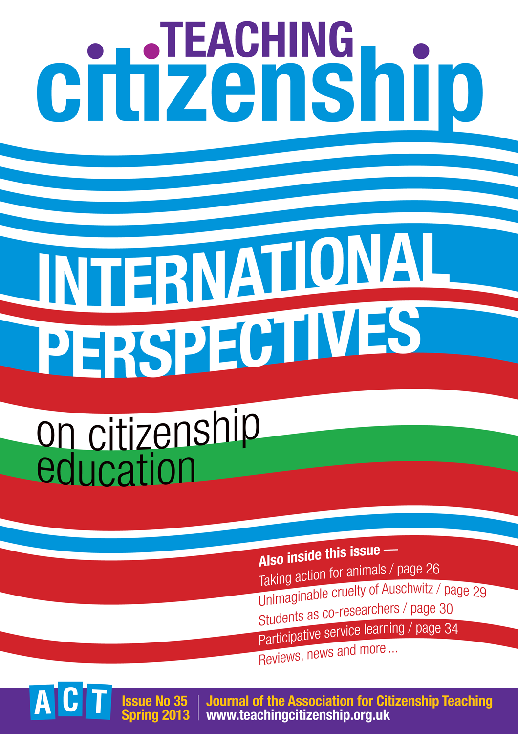 Teaching Citizenship 35 Cover