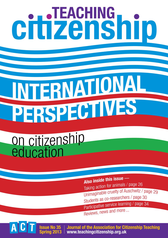 Teaching Citizenship 35 Cover