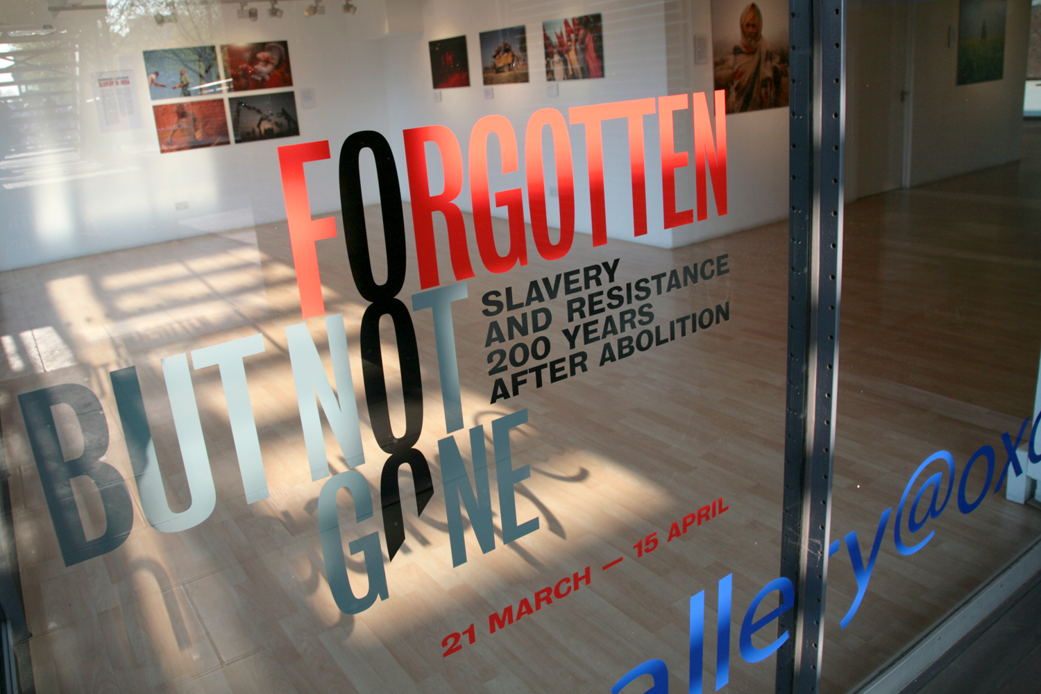 Forgotten But Not Gone Exhibition Type