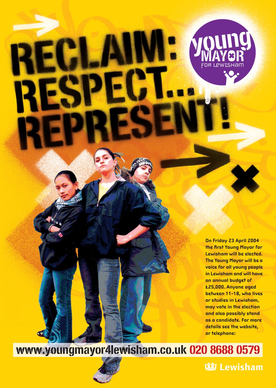 Young Mayor for Lewisham Poster 3