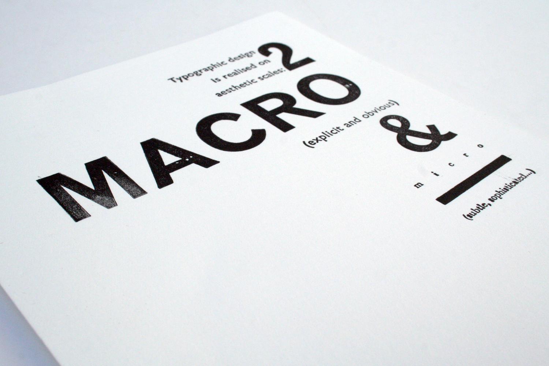 Macro/Micro