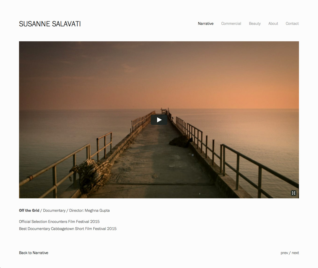 Susanne Salavati Off The Grid