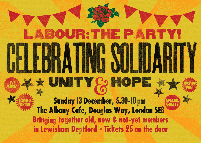Celebrating Solidarity poster