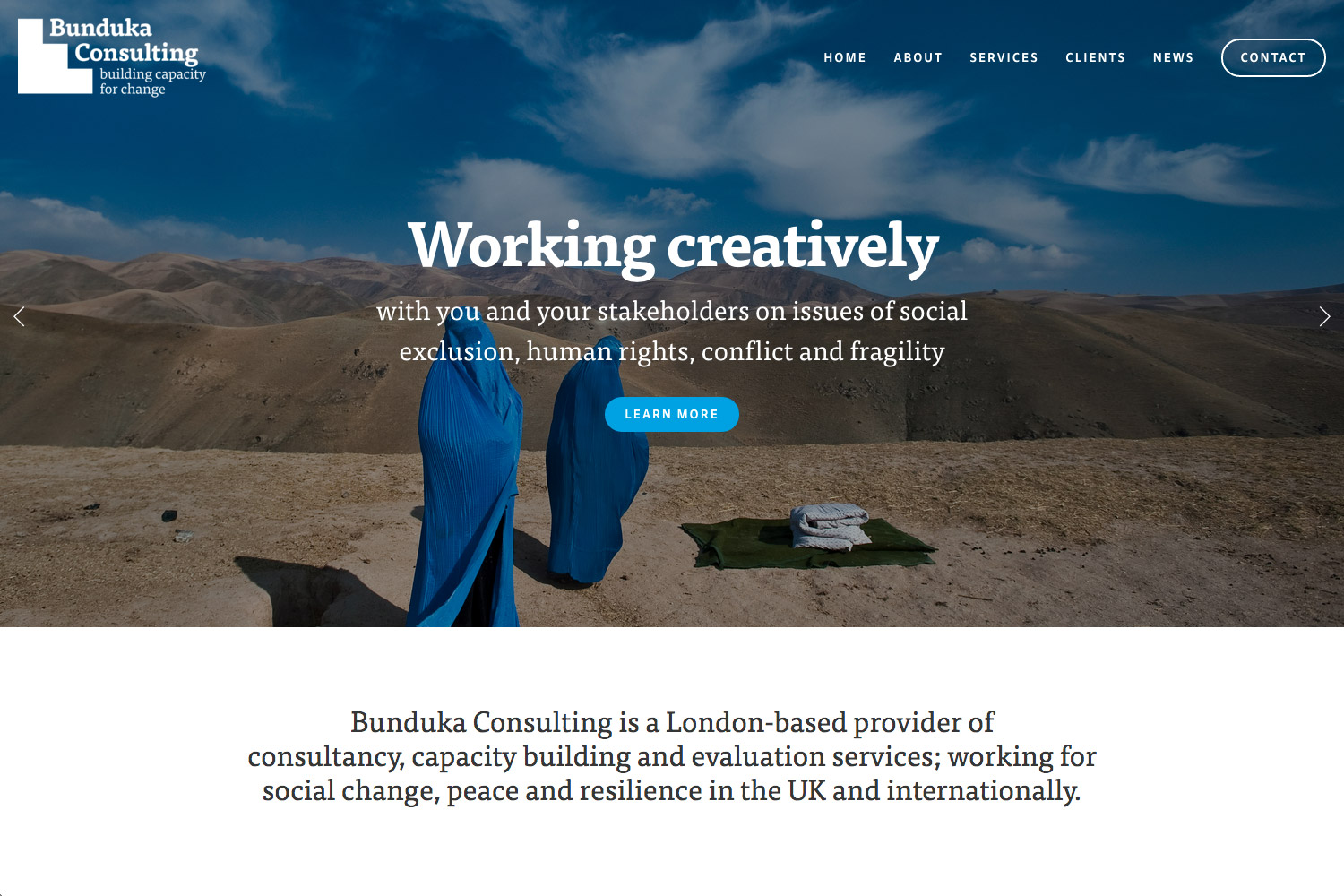 Bunduka Consulting — capacity building