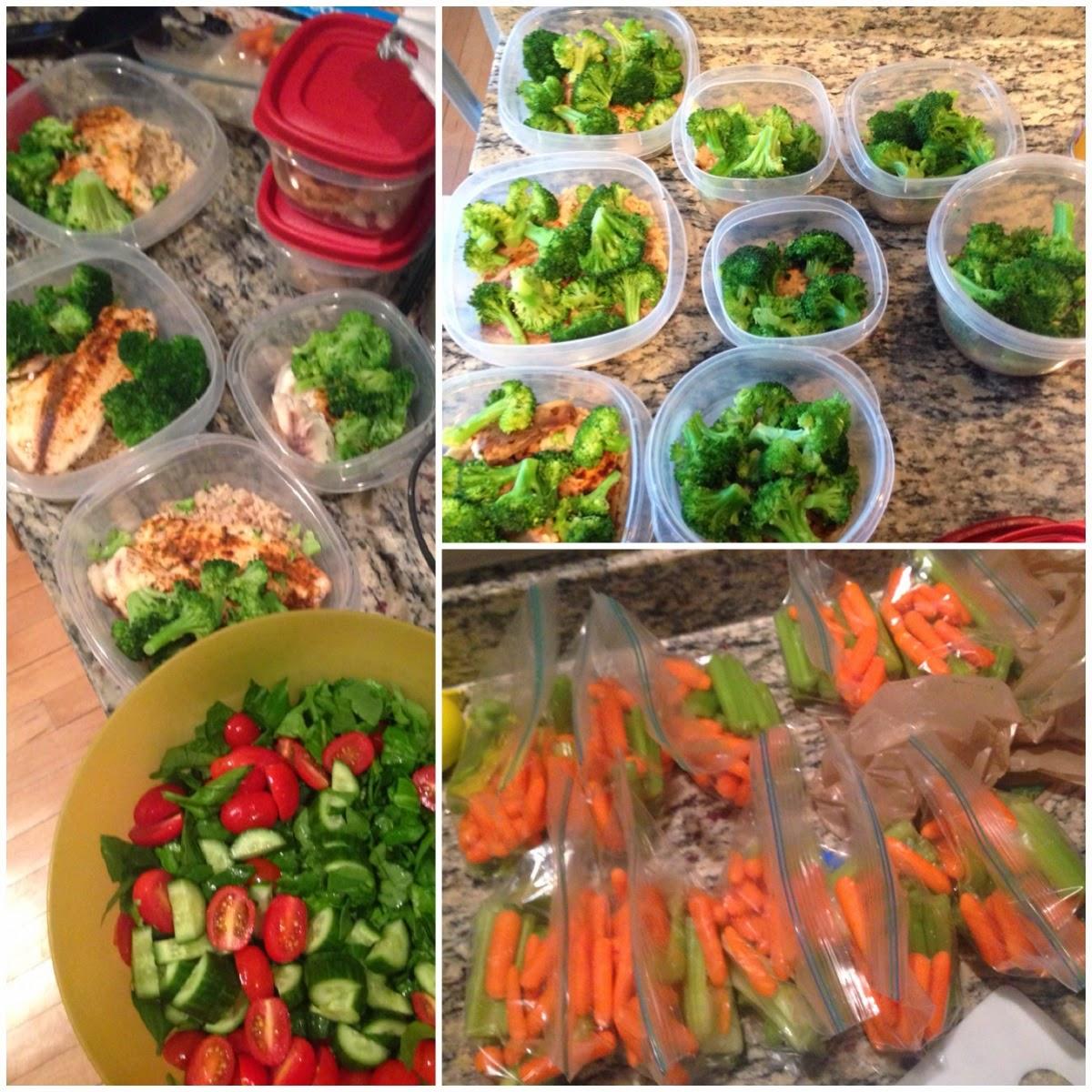 Weekly meal prep!
