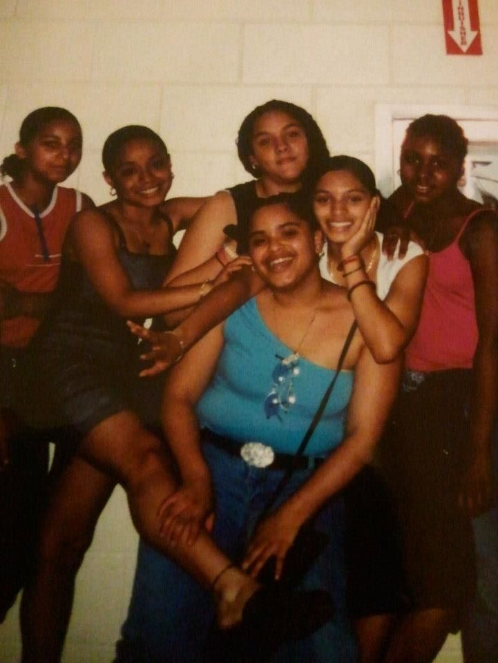 8th grade, smh. That's me on the far right.
