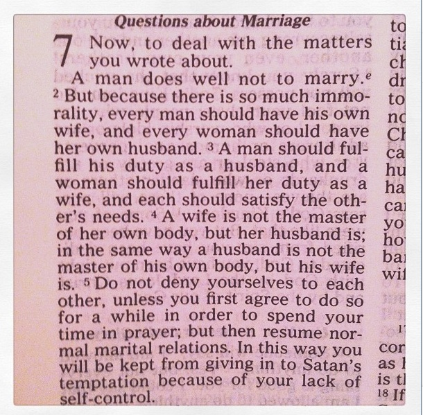 Corinthians 7:1-5
