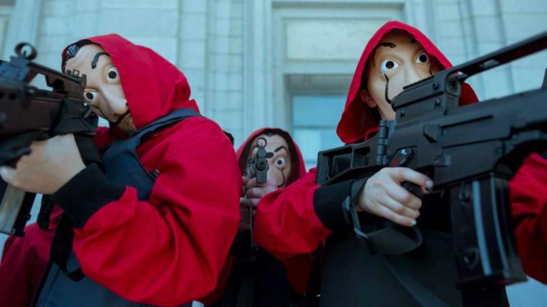 Money Heist on @Netflix — Just What We Wanna Do