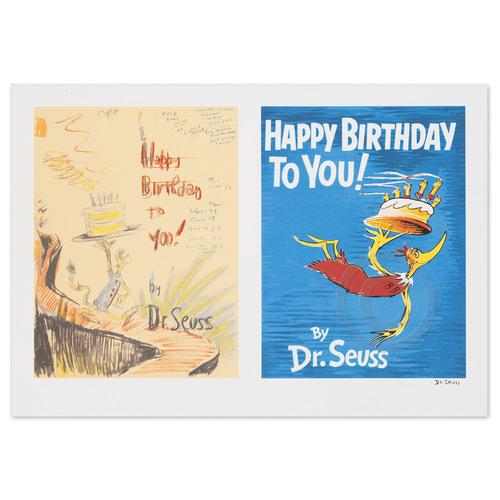 Happy Birthday - Diptych