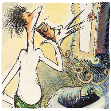 self-portraits - Over time The Cat in the Hat became more than a recurring character for Ted; it also morphed into his alter ego, surfacing repeatedly in his surrealist thematic cat paintings.READ MORE