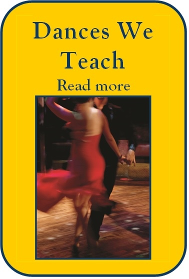 We teach everything you do with a partner on a dance floor where leading and following is involved!