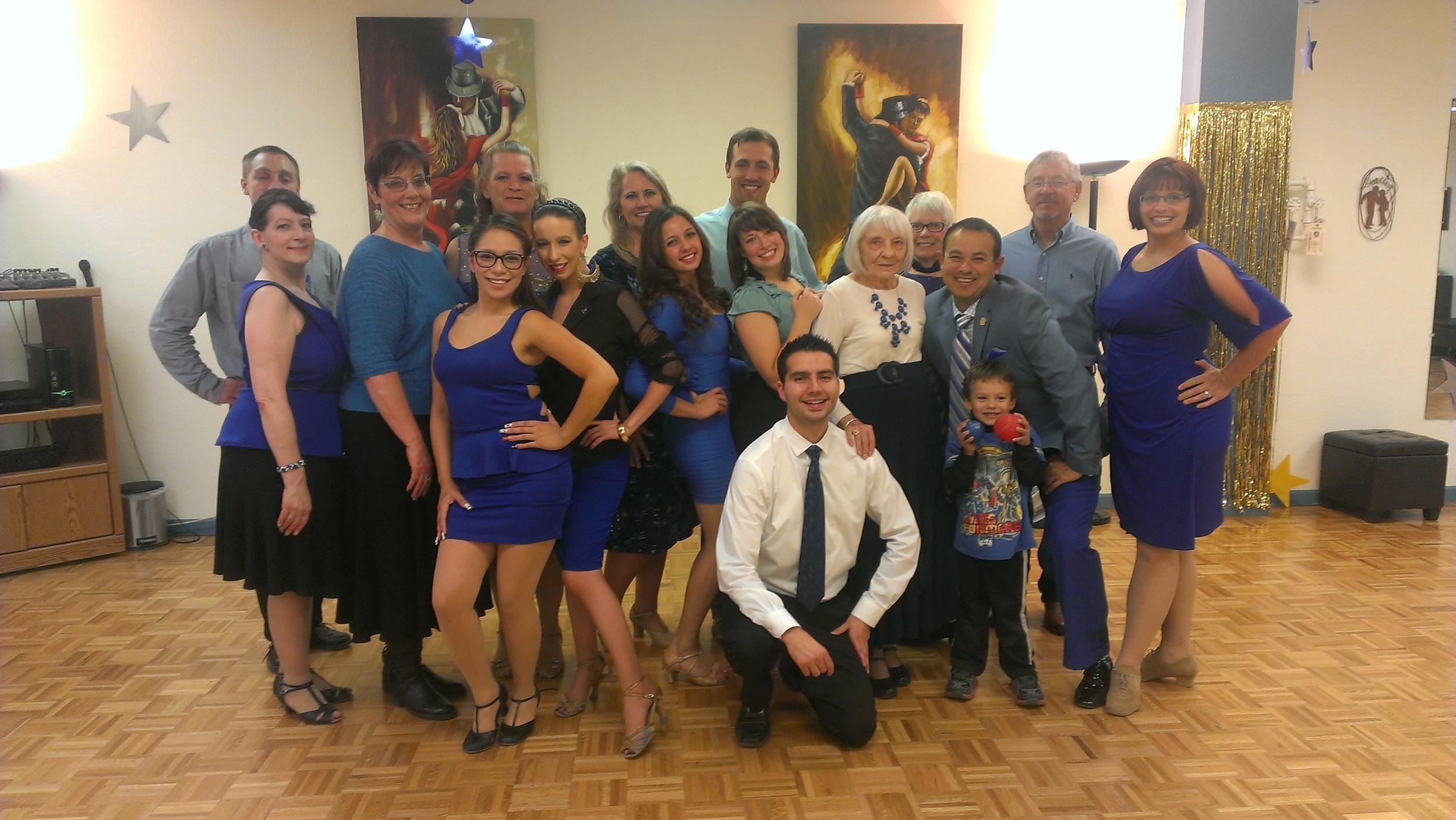 Cool Blue Dance Party