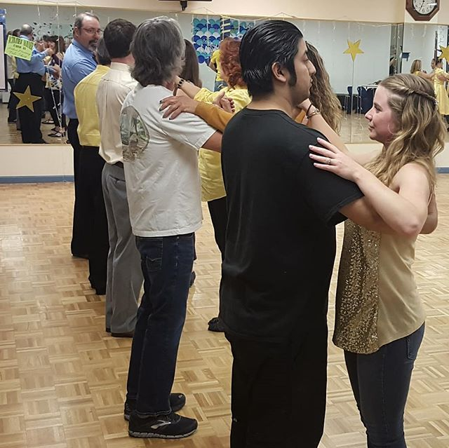 Yellow Week is a big hit with Yellow Guest Night last night and group class and party tonight!  #arthurmurrayreno #arthurmurraylifestyle #idf2019 #yellowweek #dancereno