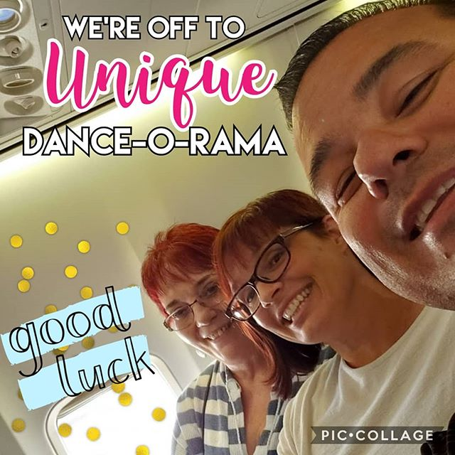 Team Reno is on their way to Unique Dance-O-Rama! @uniquedor we'll see you soon!  #arthurmurraylifestyle #arthurmurrayreno #dancereno #uniquedor2019