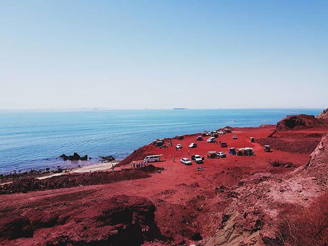 📍 Hormuz Island, Persian Gulf, IRAN 🔴 Fairy red island 🔴