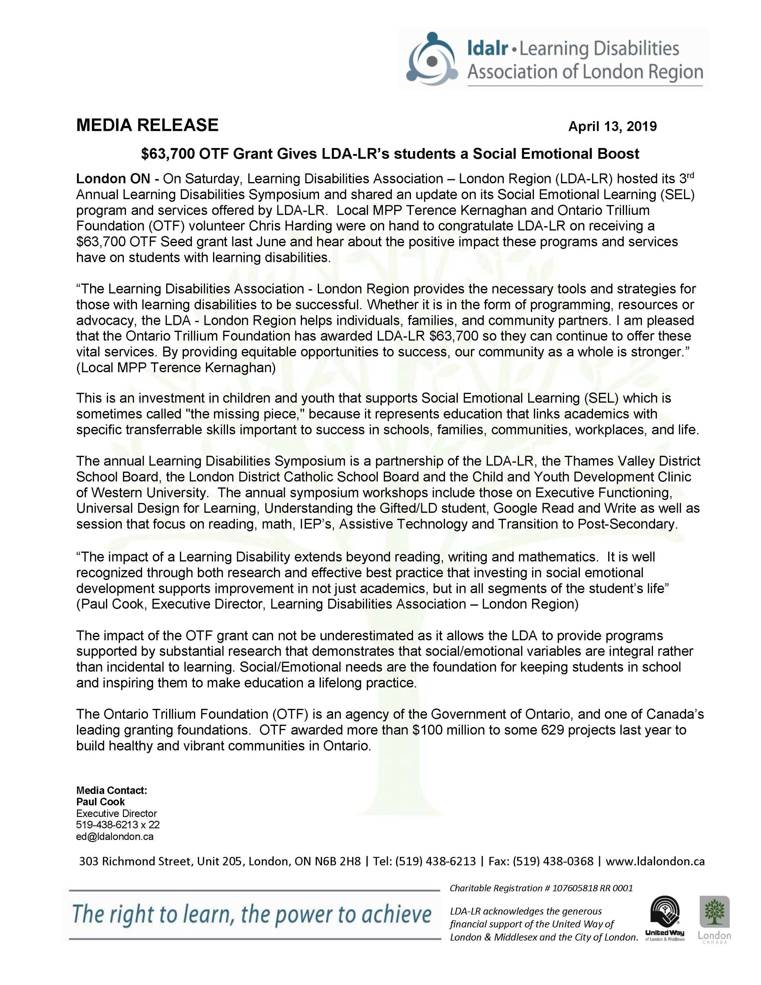 LDA of London Region media release april 13 2019.jpg