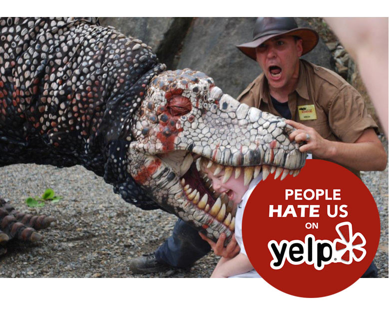 Your Creative Complaints May Win a Free Wash! - Due to the popularity of our wash and T-Rex, weekend lines can become long creating mass hysteria on yelp.  We still love you. Inspire us and your reward shall be given. *Must submit complaint via website for the chance to receive free wash. Limit one per customer.
