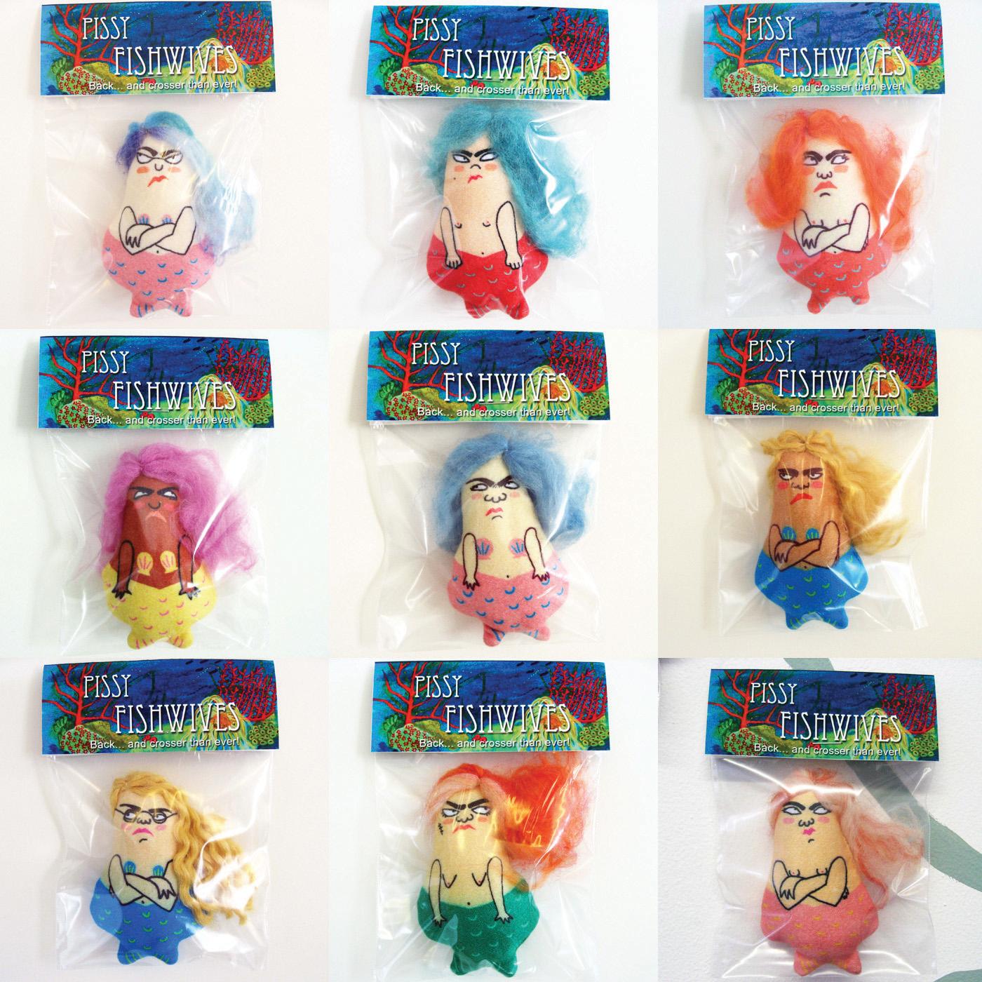Pissy Fishwife dolls