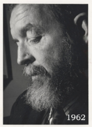 Randall Jarrell (1914-1965) in 1962, courtesy the UNC-Greensboro Special Collections and University Archives