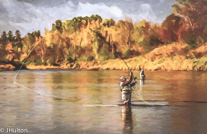 Painting by Jeff Hulton
